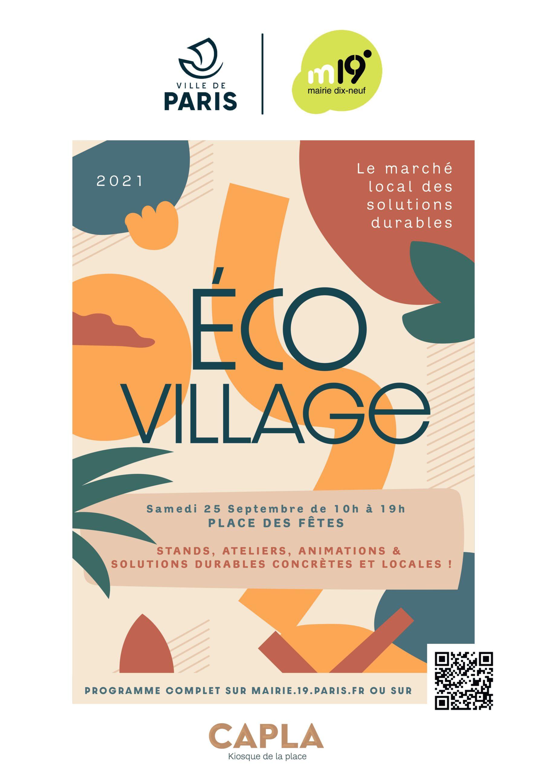 Eco-Village : le marché local des solutions durables